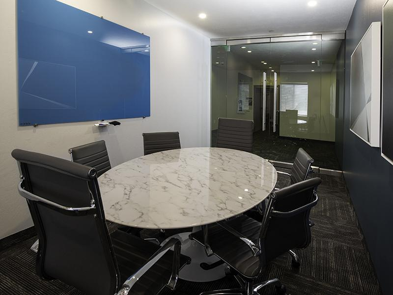 Conference Room | 644 City Station Apartments