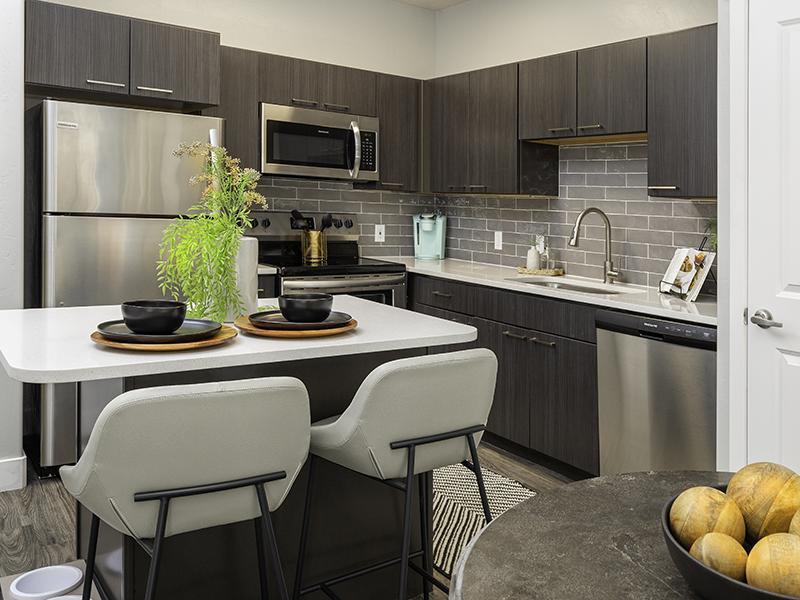 Kitchen   644 City Station Apartments in Salt Lake City, UT