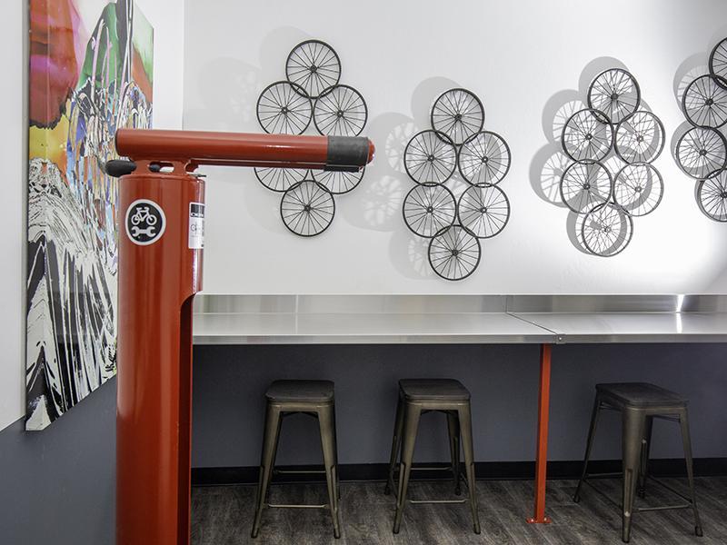 Bicycle Repair   644 City Station Apartments in Salt Lake City, UT