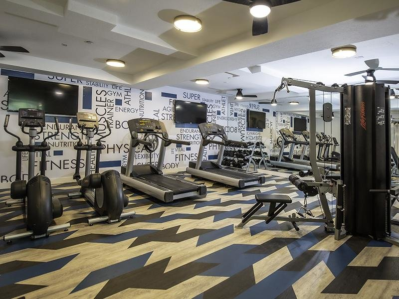 Gym | 644 City Station Apartments | Utah