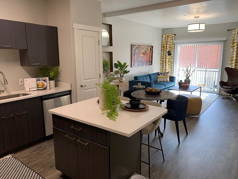 Kitchen & Living Room | 644 City Station