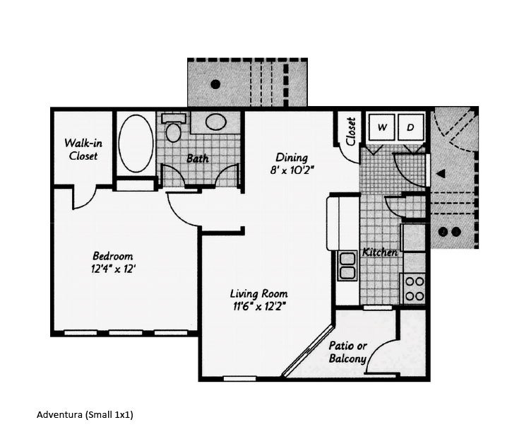 Our Aventura is a 1 Bedroom, 1 Bathroom Apartment