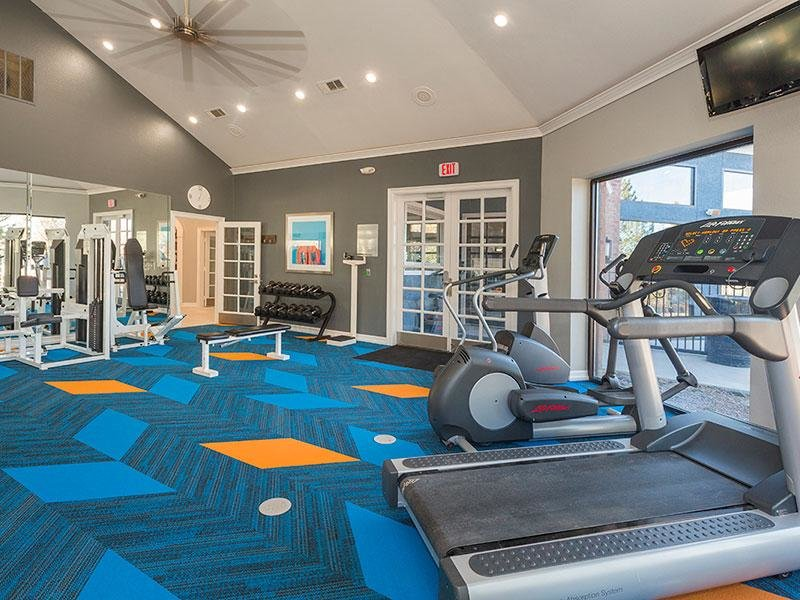 Fitness Center | Retreat at Cheyenne Mountain Colorado Apartments