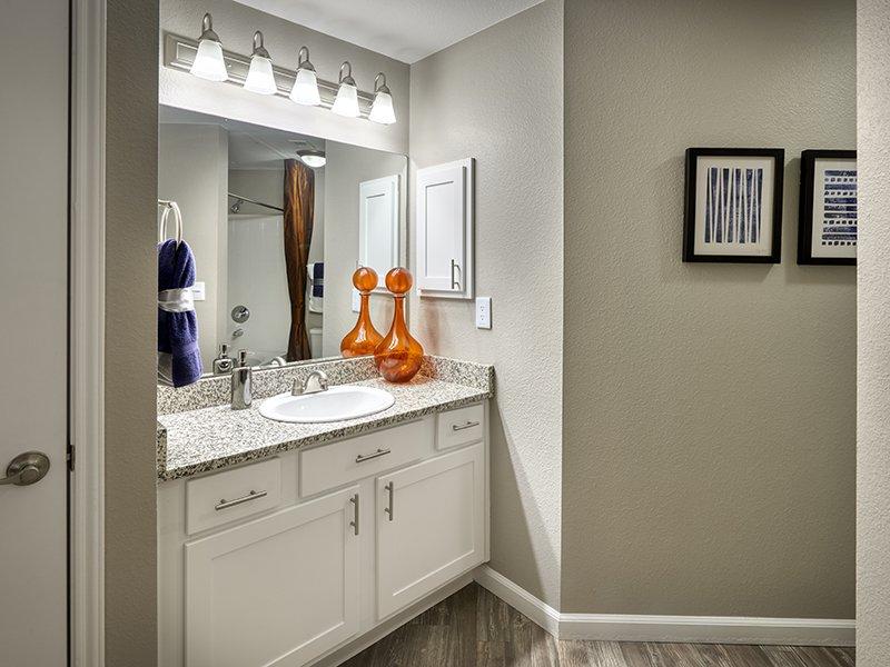 Bathroom Vanity | Retreat at Cheyenne Mountain Apartments