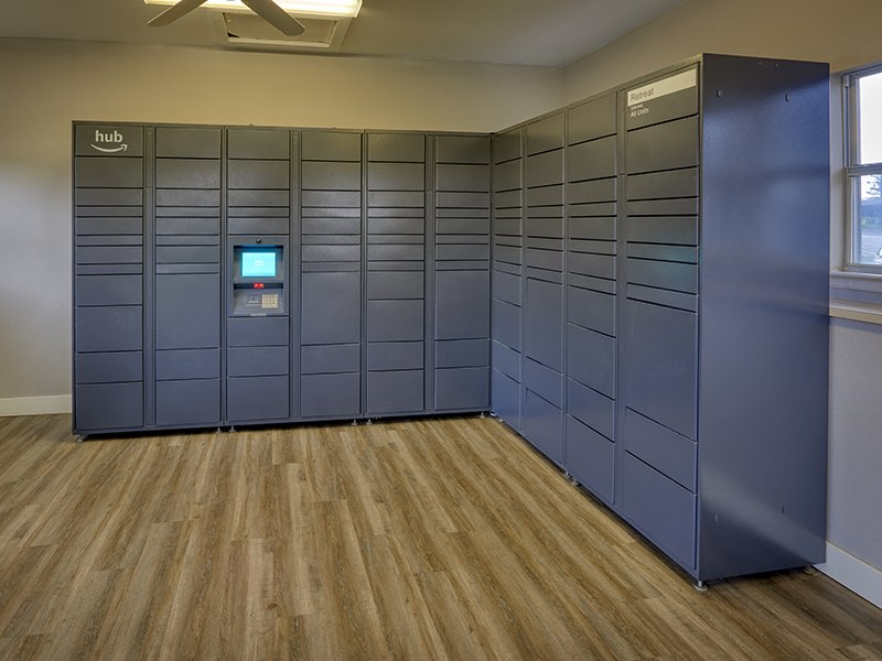 Package Area | Retreat at Cheyenne Mountain Apartments