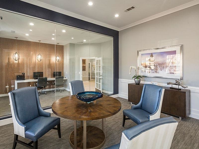 Clubhouse Interior | Retreat at Cheyenne Mountain Apartments in CO