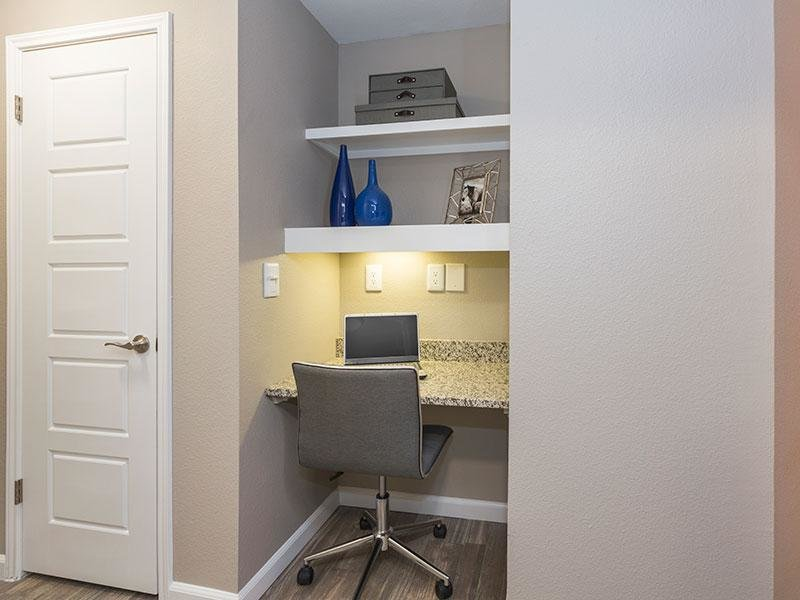 Built in Desk | Retreat at Cheyenne Mountain Apartments in CO
