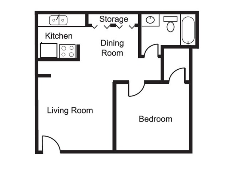 Floor Plans at The Grove Apartments