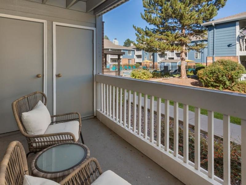 Balcony | The Preserve at City Center Aurora Apartments