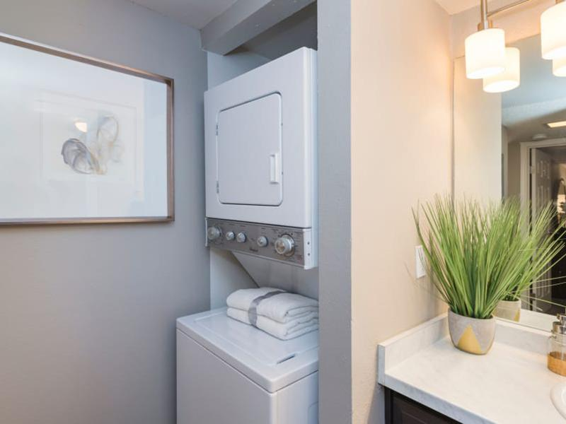 Washer & Dryer | The Preserve at City Center Aurora Apartments
