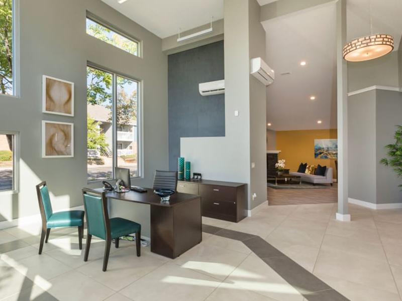 Clubhouse Interior | The Preserve at City Center Apartments in Aurora, CO