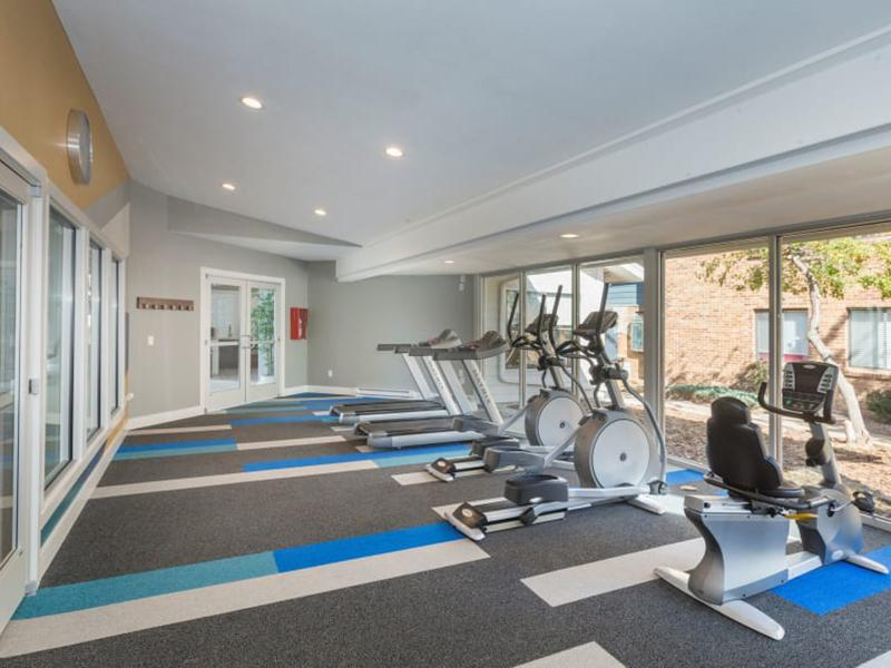 Gym | The Preserve at City Center Aurora Apartments