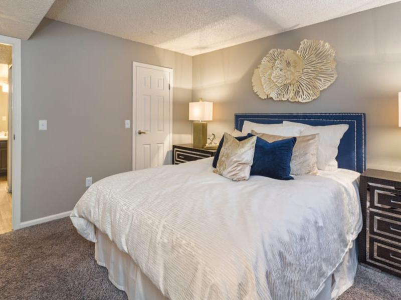 Bedroom | The Preserve at City Center Aurora Apartments