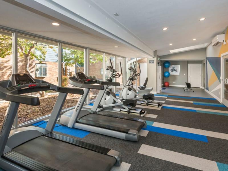 Fitness Center | The Preserve at City Center Aurora Apartments