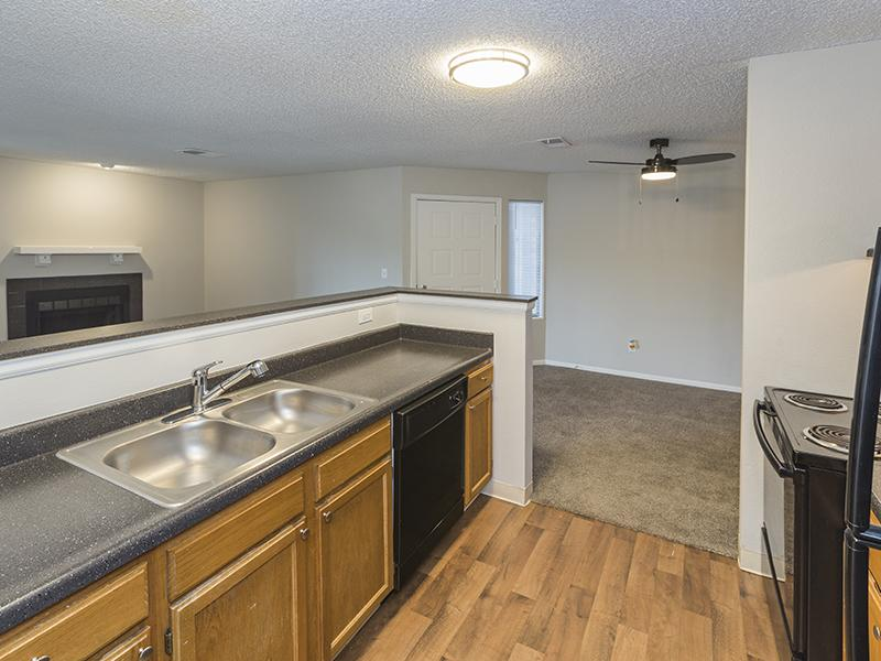 Kitchen | Cheyenne Crest Apartments in Colorado Springs, CO