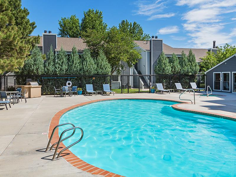 Swimming Pool  | Cheyenne Crest Apartments in Colorado Springs, CO