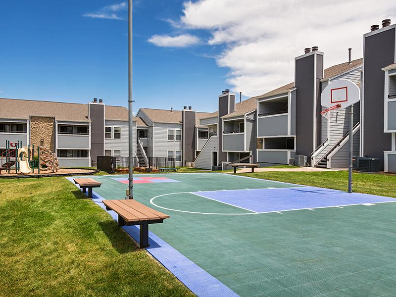 Sports Court | Cheyenne Crest Apartments in Colorado Springs, CO