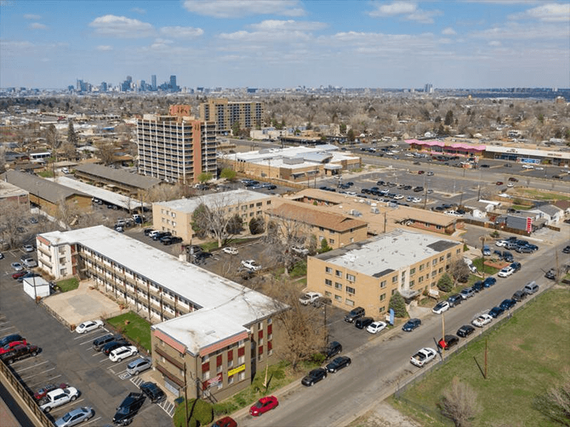Arial View | Continental Court Apartments