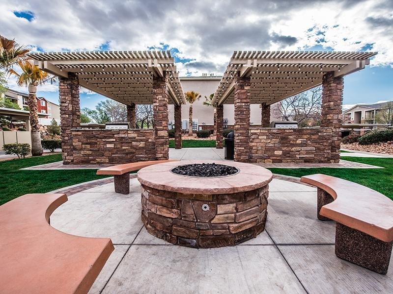 Fire Pit | Oasis Palms