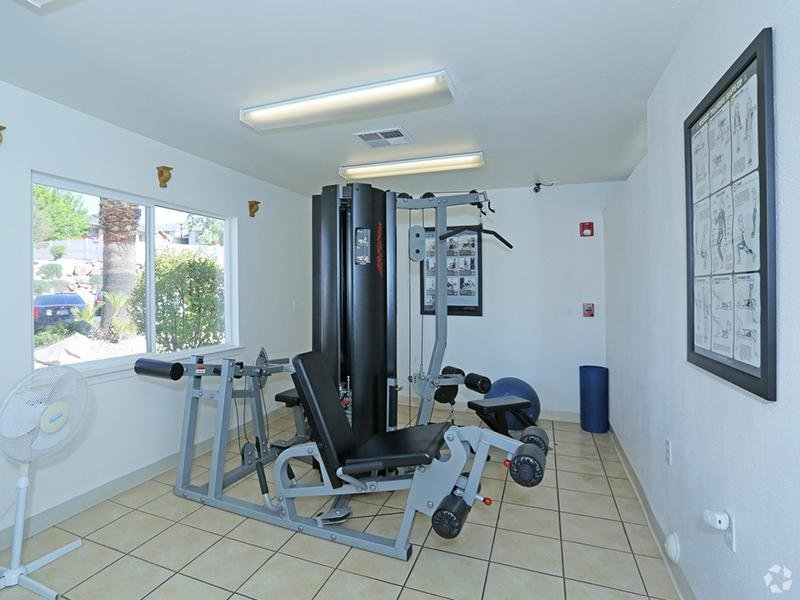 Fitness Center | Oasis Palms Apartments