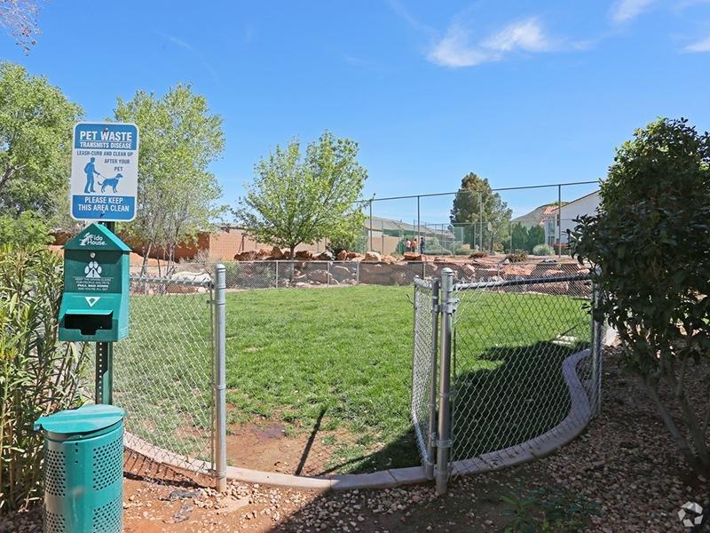 Dog Park | Pet Friendly Apartments | St Geroge