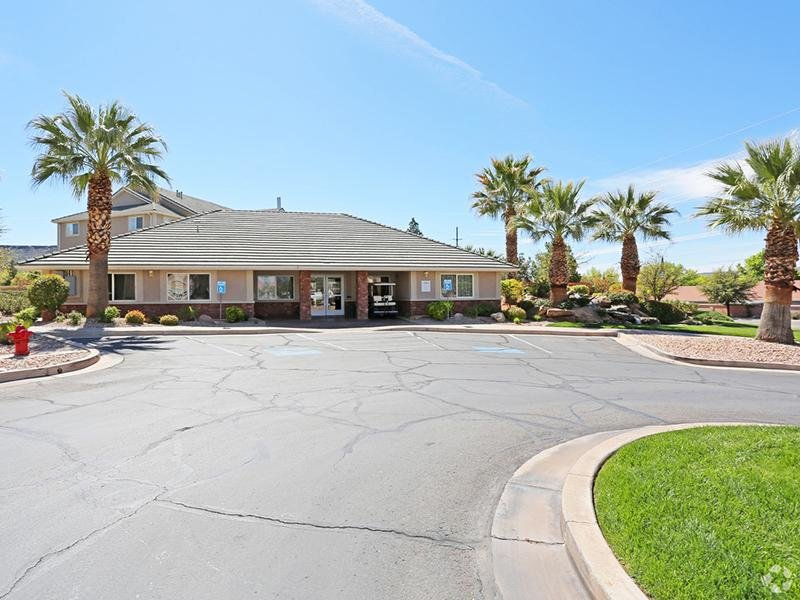 Clubhouse | Oasis Palms Apartment Community