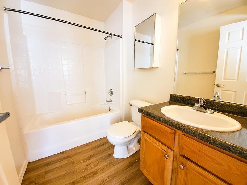 Bathroom | Oasis Palms Apartments