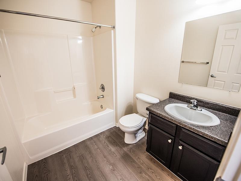 Renovated Bathroom | Oasis Palms