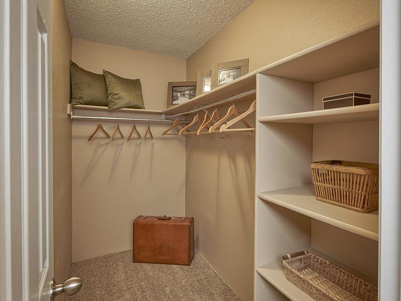 Closet | Loretto Heights Apartments