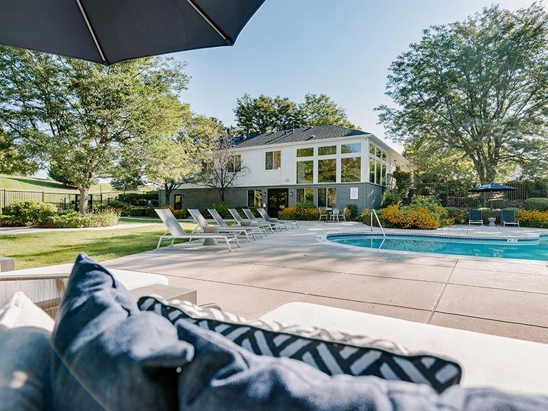 Swimming Pool Lounge | Kallisto at Bear Creek 80227 Apartments
