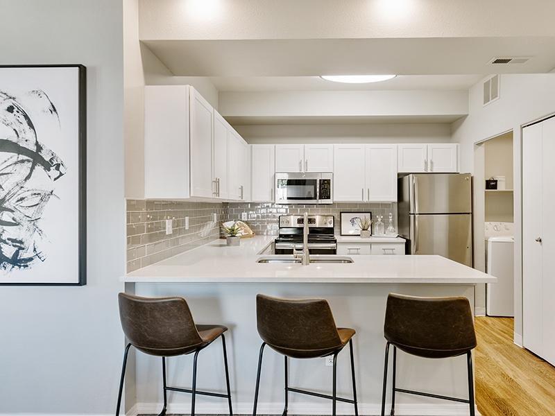 Kitchen | Kallisto at Bear Creek Apartments in Lakewood CO