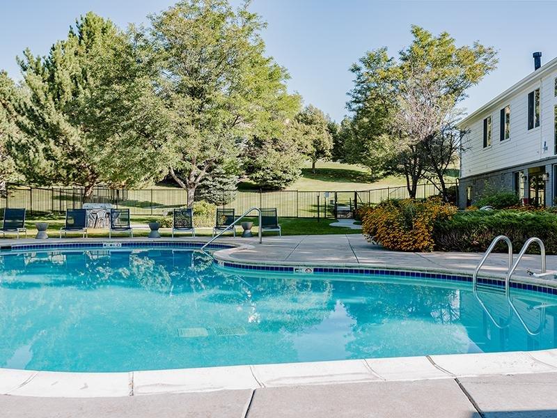 Exterior Swimming Pool | Kallisto at Bear Creek Lakewood Apartments