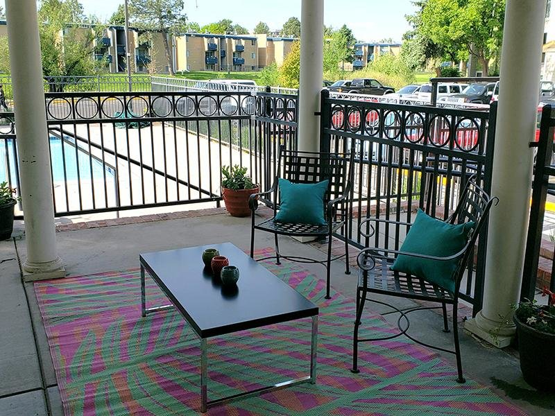 Patio | The Flats at Creekside