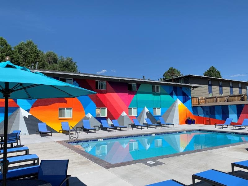 Swimming Pool | Eagle Crest Apartments
