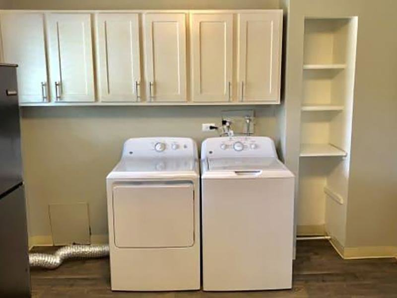 Washer & Dryer | Eagle Crest Apartments