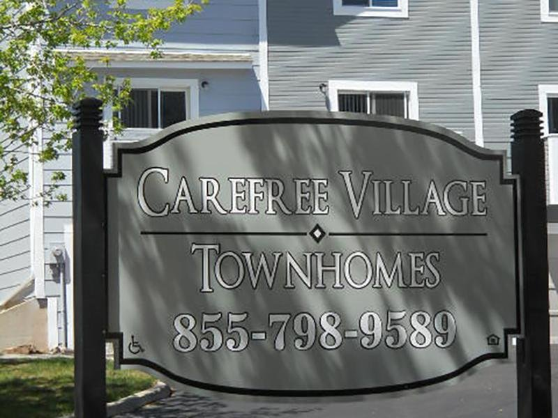 Sign | Carefree Village Townhomes