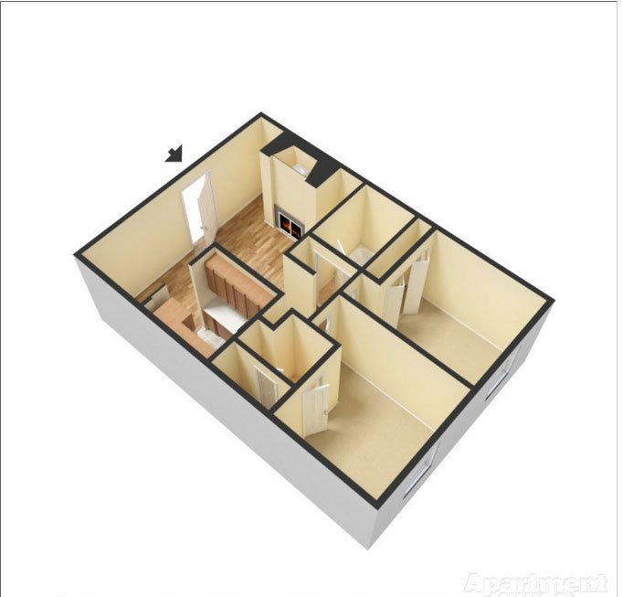 Floor Plans at Skyline View Apartments