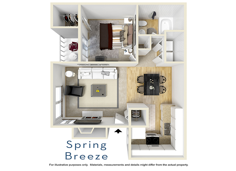 Floor Plans at Cheyenne Crossing Apartments