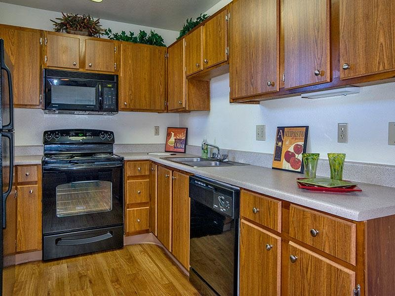 Kitchen - Colorado Springs Apartments