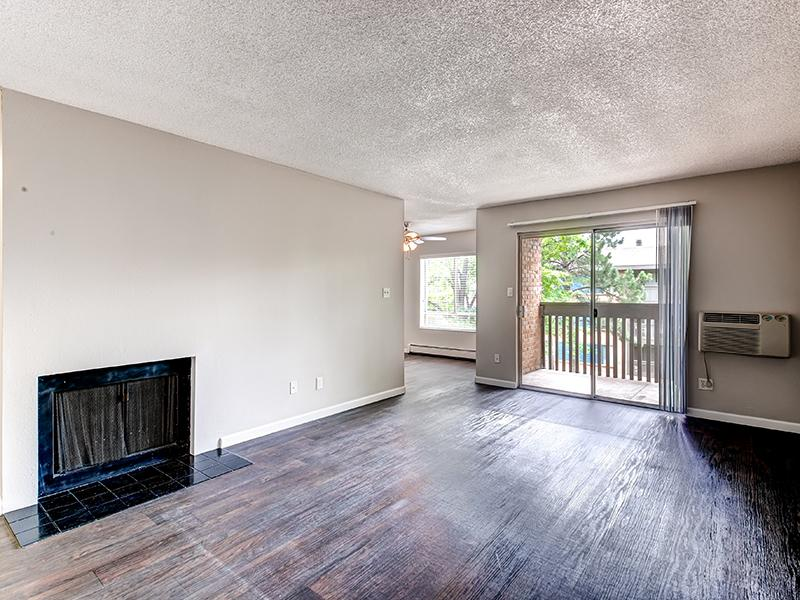 Front Room | Tamarac Village Apartments Denver Colorado