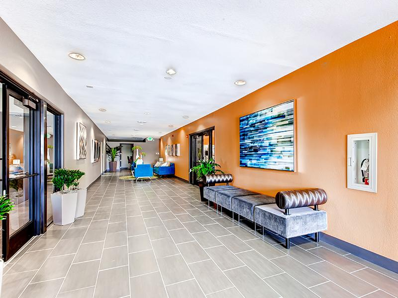Club House Lobby | Tamarac Village Apartments Denver, Co