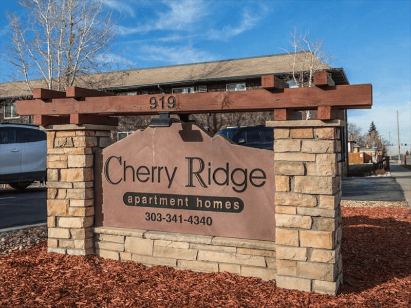 Sign | Cherry Ridge Apartments