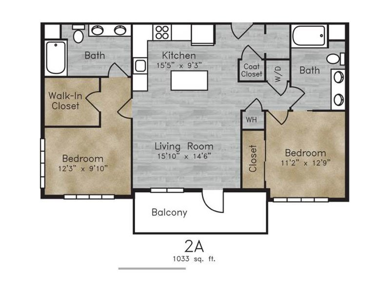 Floor Plans at Boulder View Apartments