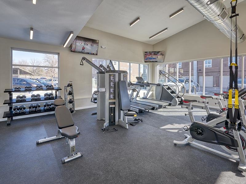 Fitness Center | Boulder View Apartments