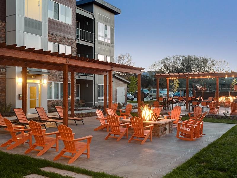 Fire Pit | Apartments in Boulder, Colorado