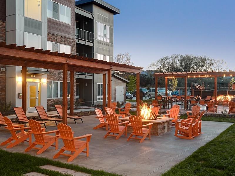 Fire Pit | Apartments in Boulder, Colorado