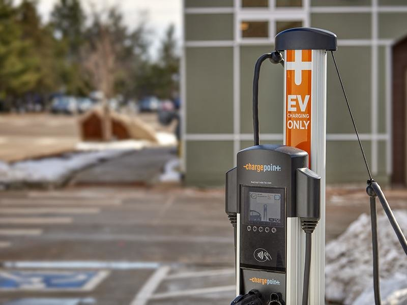 Charging Station | Boulder View Apartments