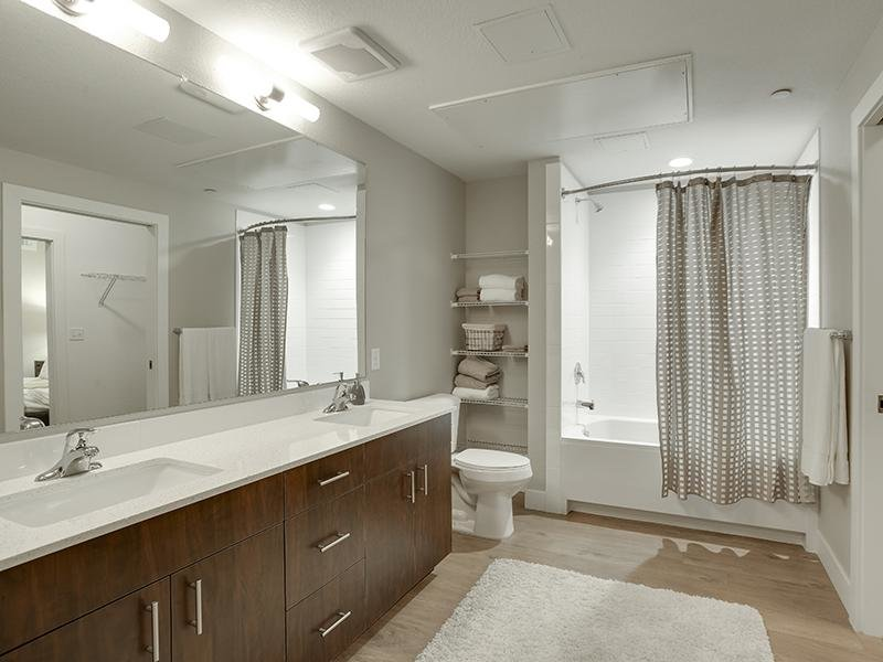 Bathroom | Boulder View Apartments | Colorado