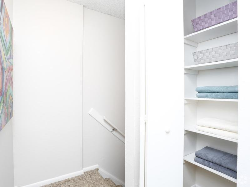 Closet Space | Sunset Ridge Apartments