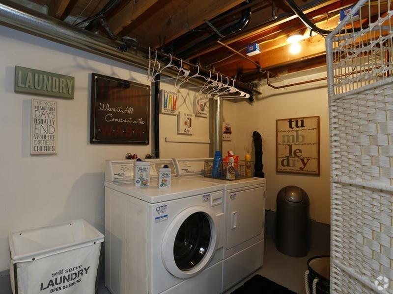 Washer and Dryer   Sunset Ridge Apartments